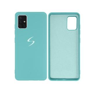 Capa Original Silicone Case Samsung A51 Verde Piscina SC-A51-VP