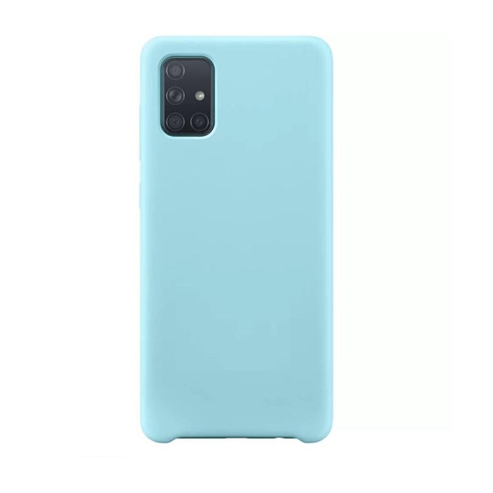 Capa Silicone Case Samsung A71 Azul Céu SC-A71-AC