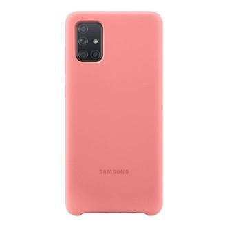 Capa Original Silicone Case Samsung A71 Nude SC-A71-NU
