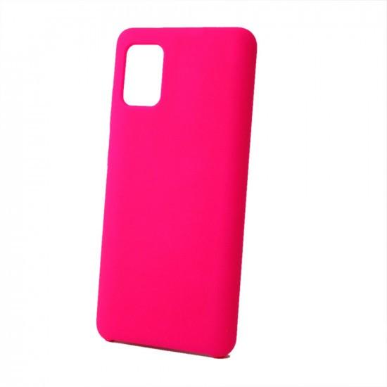 Capa Silicone Case Samsung A71 Rosa Pink SC-A71-RP