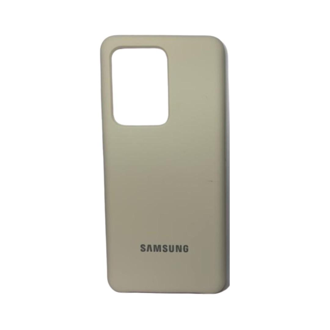 Capa Original Silicone Case Samsung S20PLUS Bege SC-S20PLUS-BE