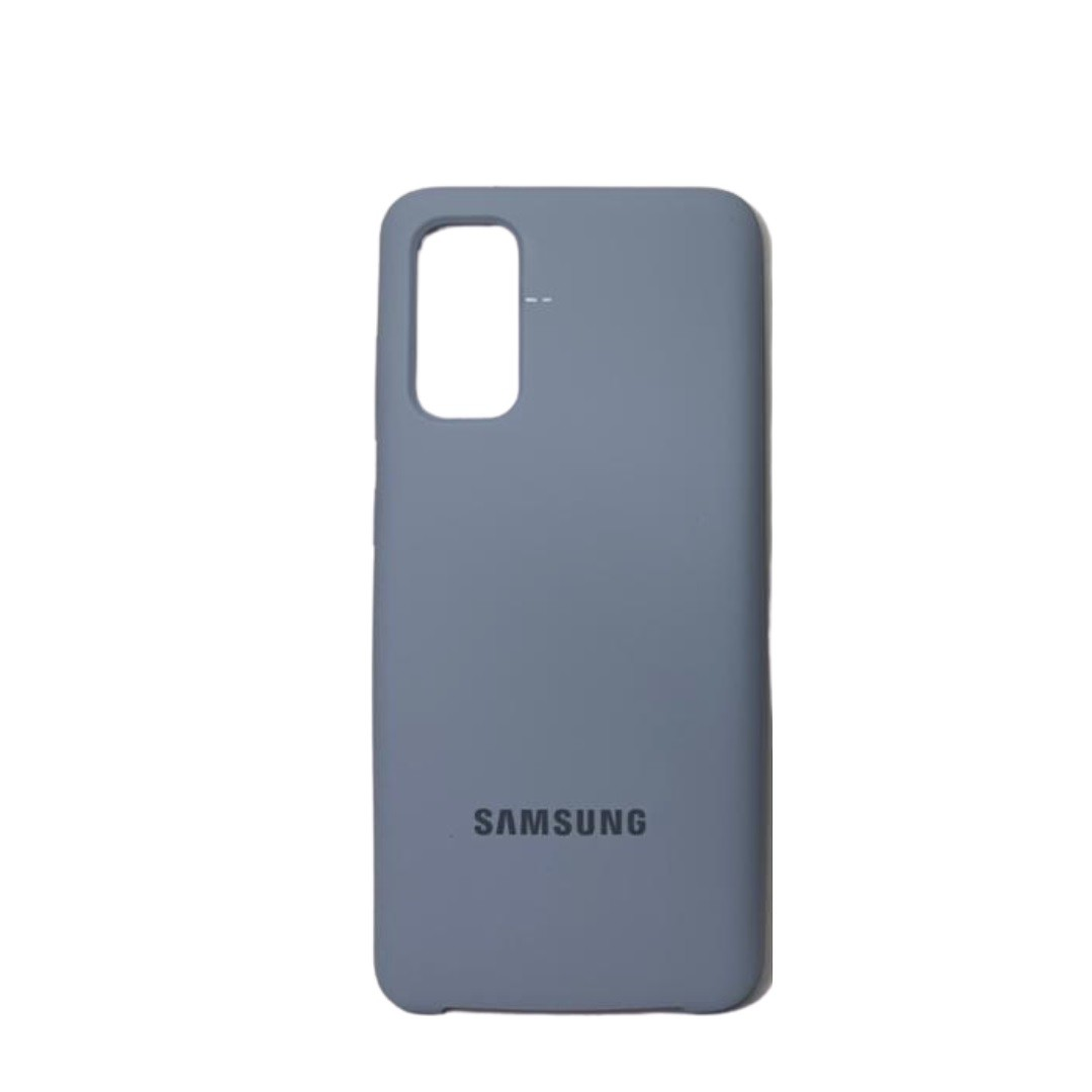 Capa Original Silicone Case Samsung S20 Azul Claro SC-S20-AC