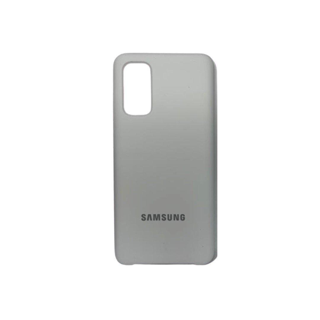 Capa Original Silicone Case Samsung S20 Branca SC-S20-BR