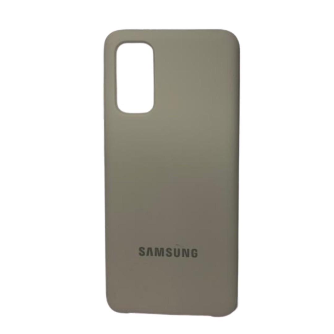 Capa Original Silicone Case Samsung S20 Branco Gelo SC-S20-BG