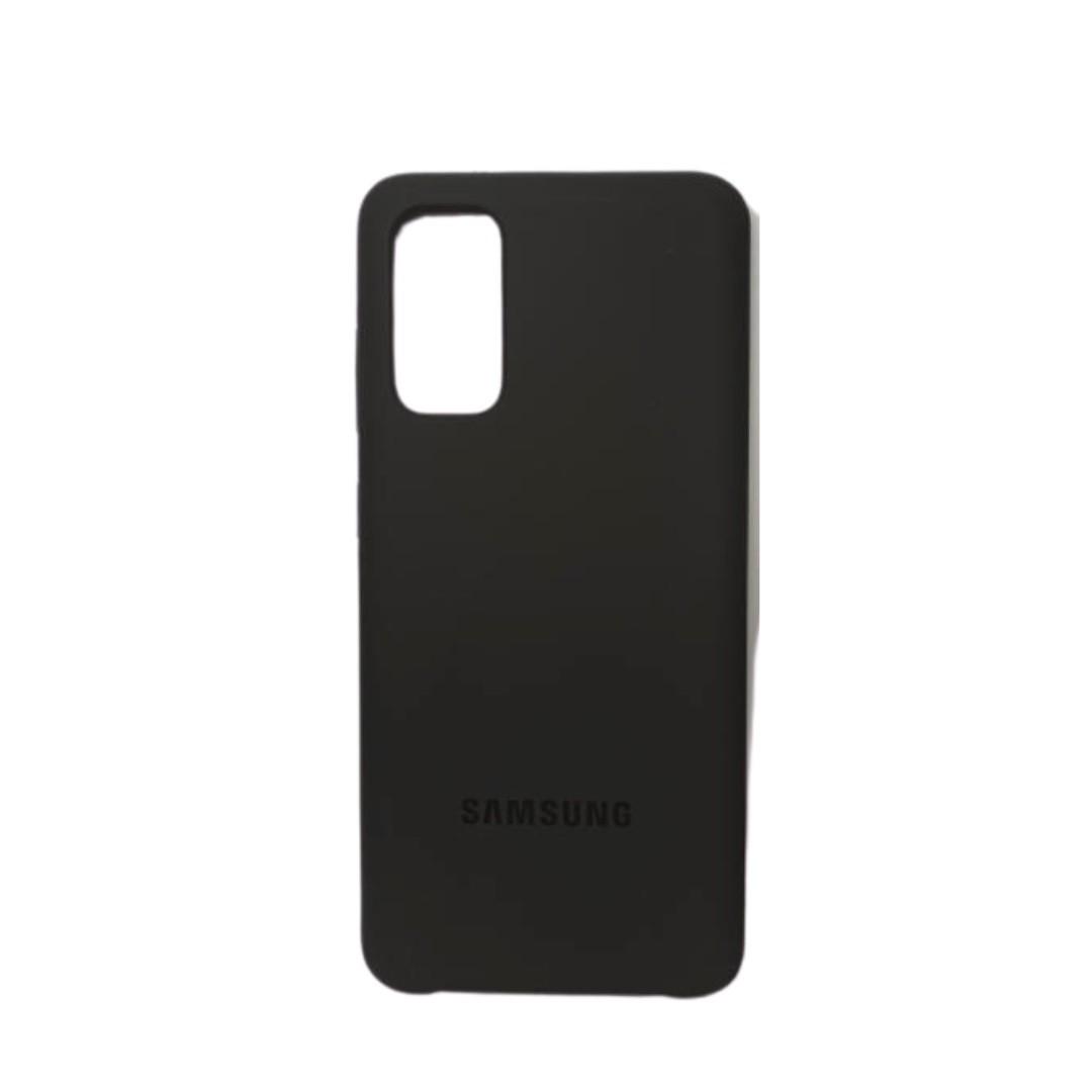 Capa Original Silicone Case Samsung S20 Grafite SC-S20-GR