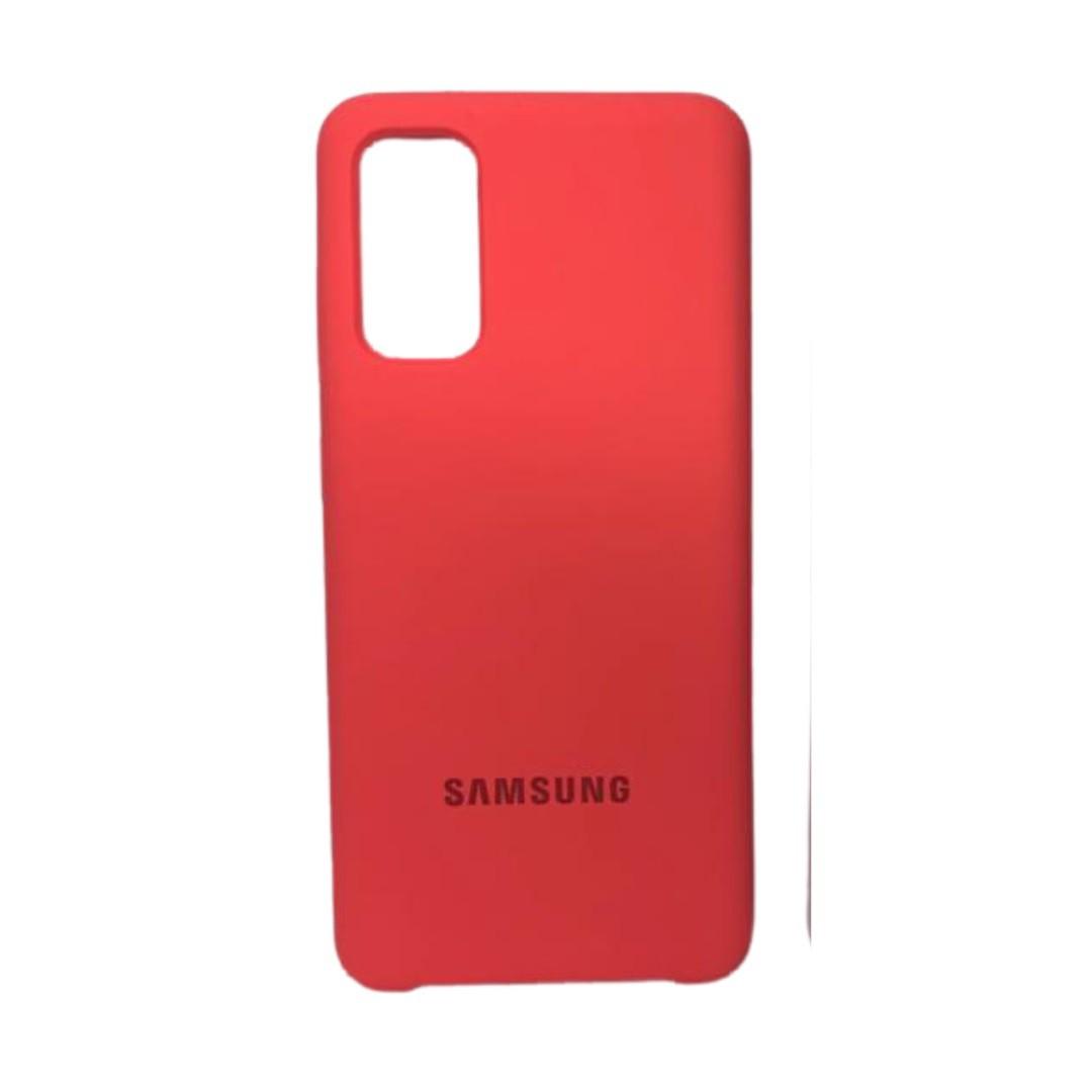 Capa Original Silicone Case Samsung S20 Neon SC-S20-NE