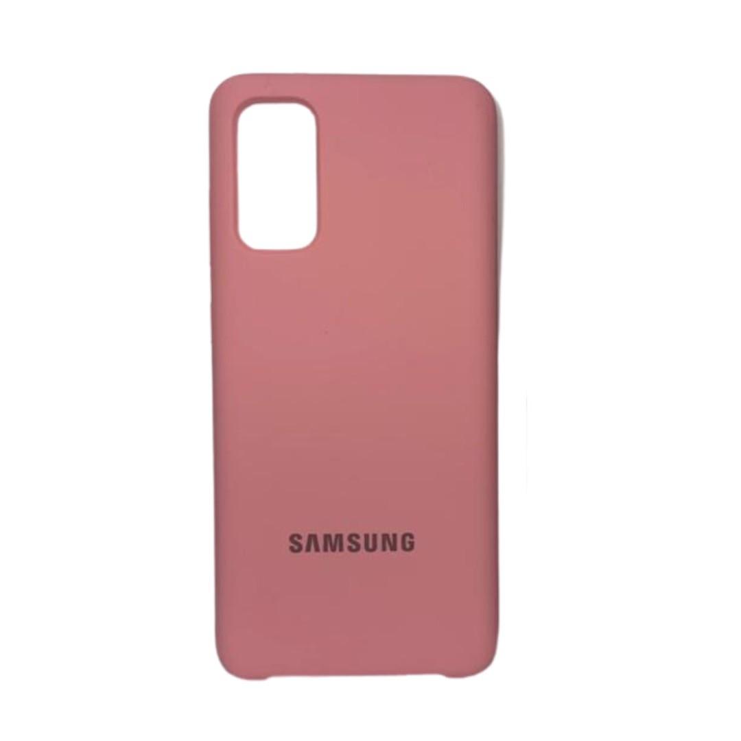 Capa Original Silicone Case Samsung S20 Rosa Bebê SC-S20-RB
