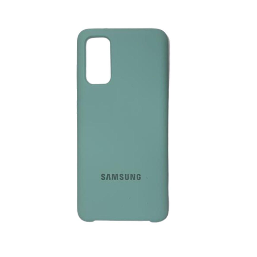 Capa Original Silicone Case Samsung S20 Verde Claro SC-S20-VC