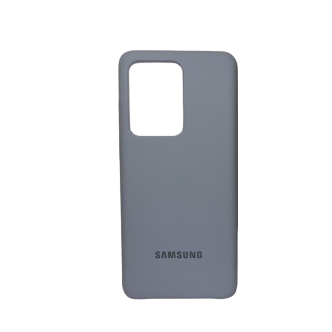 Capa Original Silicone Case Samsung S20 Ultra Azul Claro SC-S20U-AC