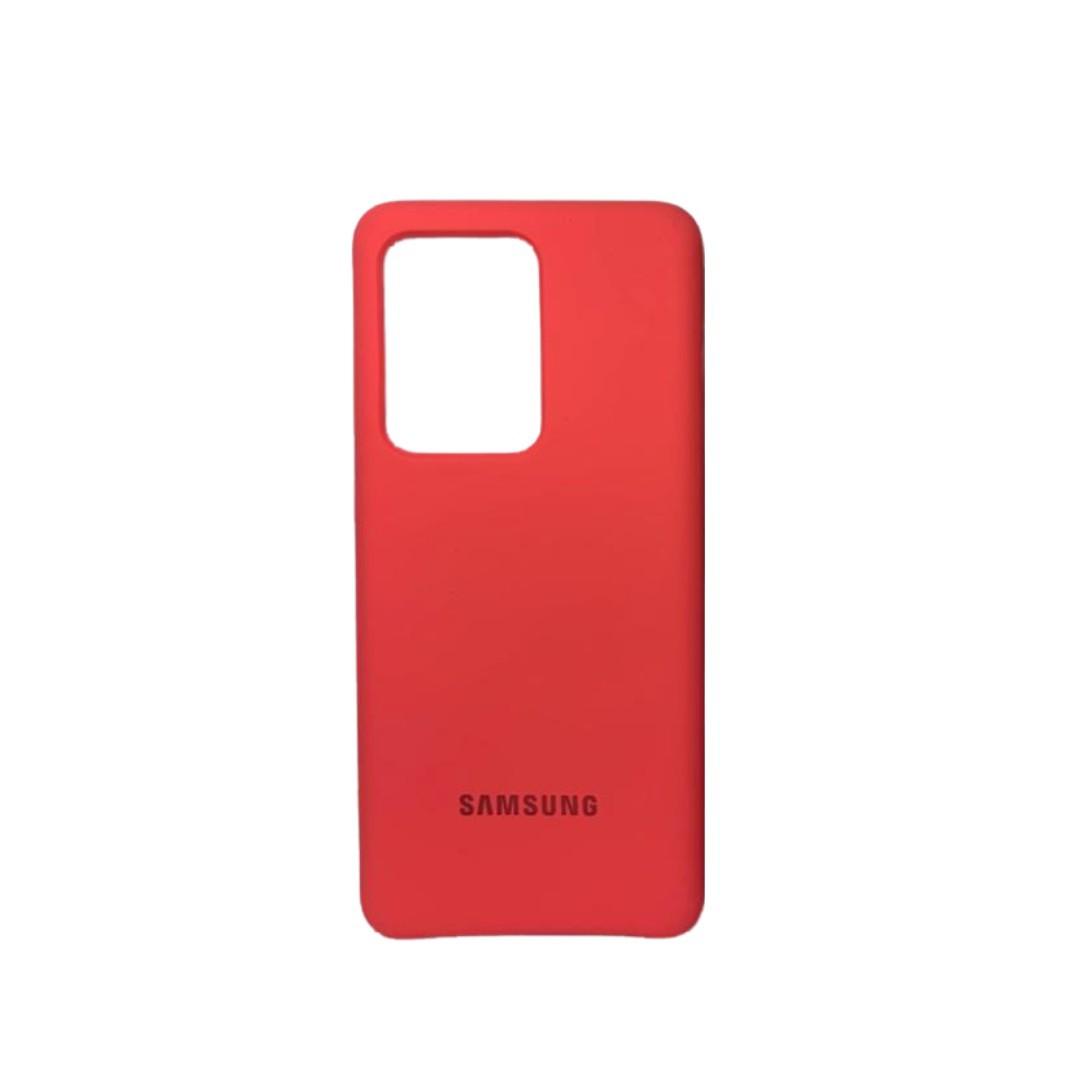 Capa Original Silicone Case Samsung S20 Ultra Neon SC-S20U-NE