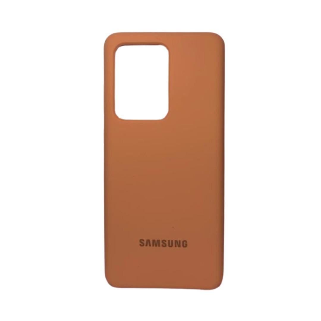 Capa Original Silicone Case Samsung S20 Ultra Salmão SC-S20U-SA