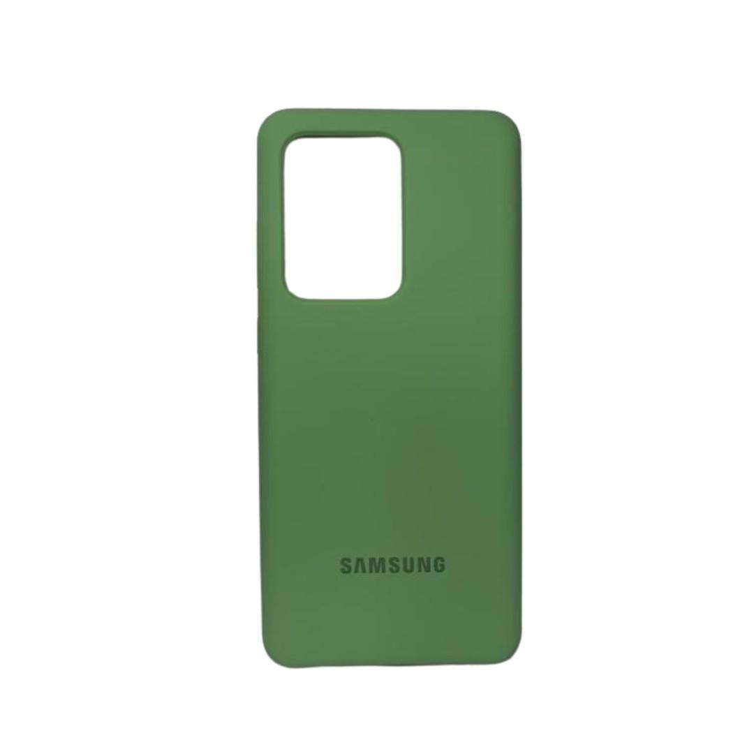Capa Original Silicone Case Samsung S20 Ultra Verde Abacate SC-S20U-VA