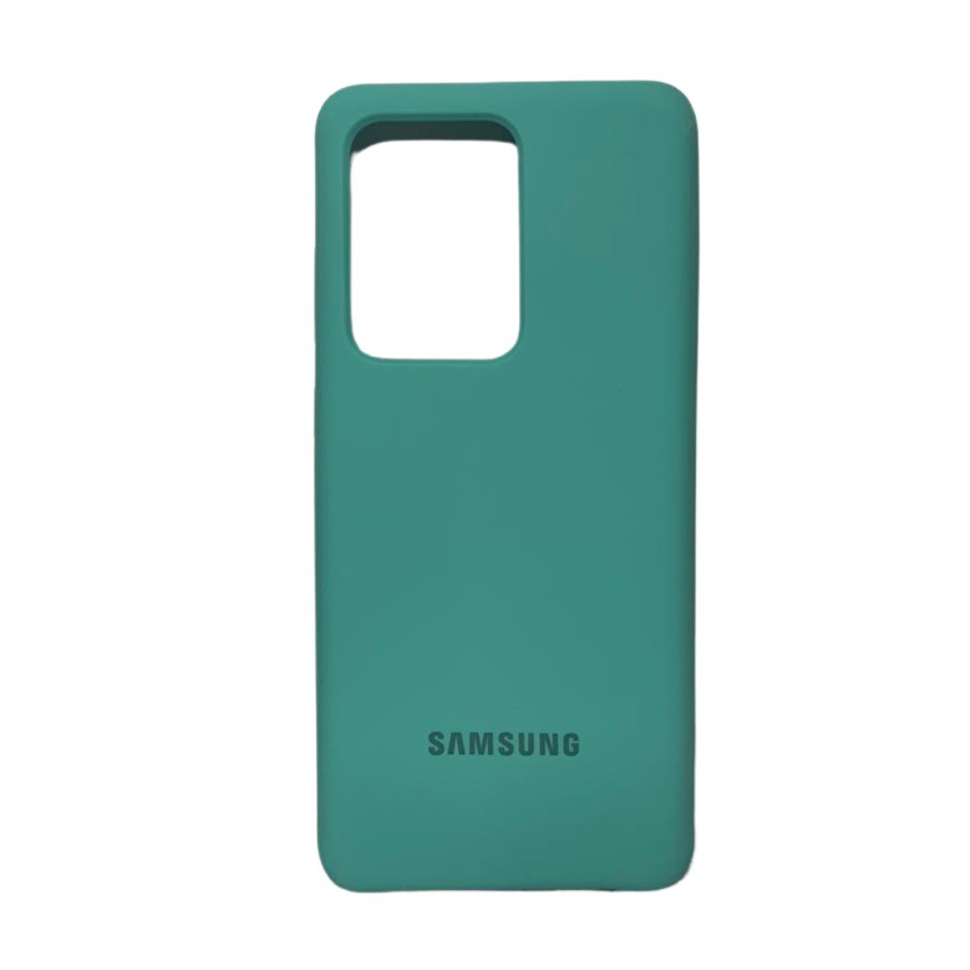 Capa Original Silicone Case Samsung S20 Ultra Verde Claro SC-S20U-VC