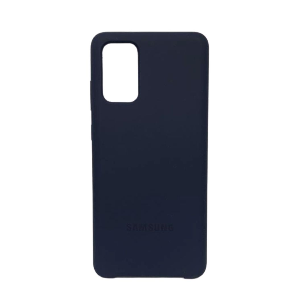 Capa Original Silicone Case Samsung S20 Plus Azul Marinho SC-S20PLUS-AZM