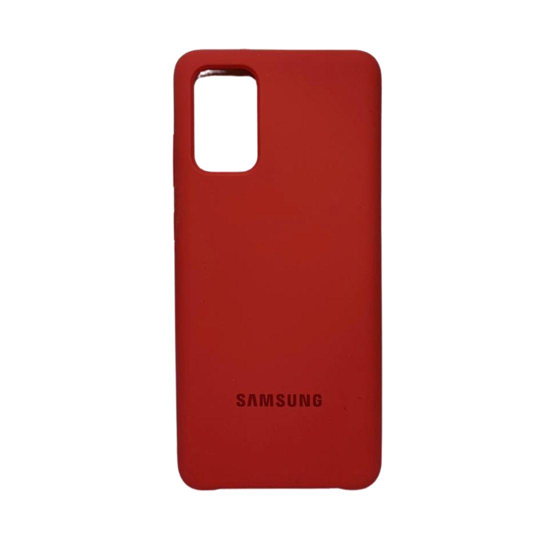 Capa Original Silicone Case Samsung S20 Plus Bordô SC-S20PLUS-BO