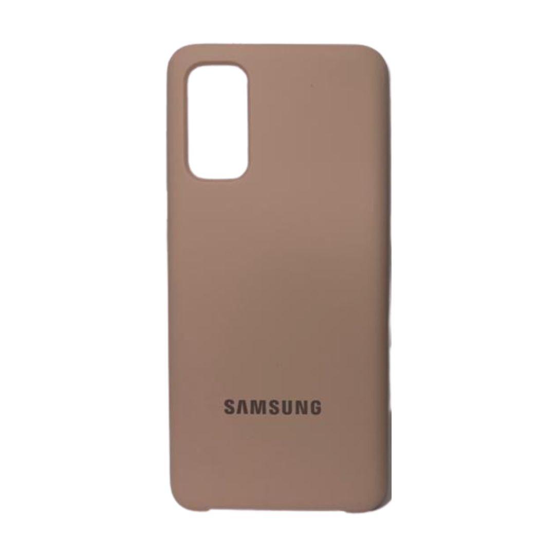 Capa Original Silicone Case Samsung S20 Plus Nude SC-S20PLUS-NU