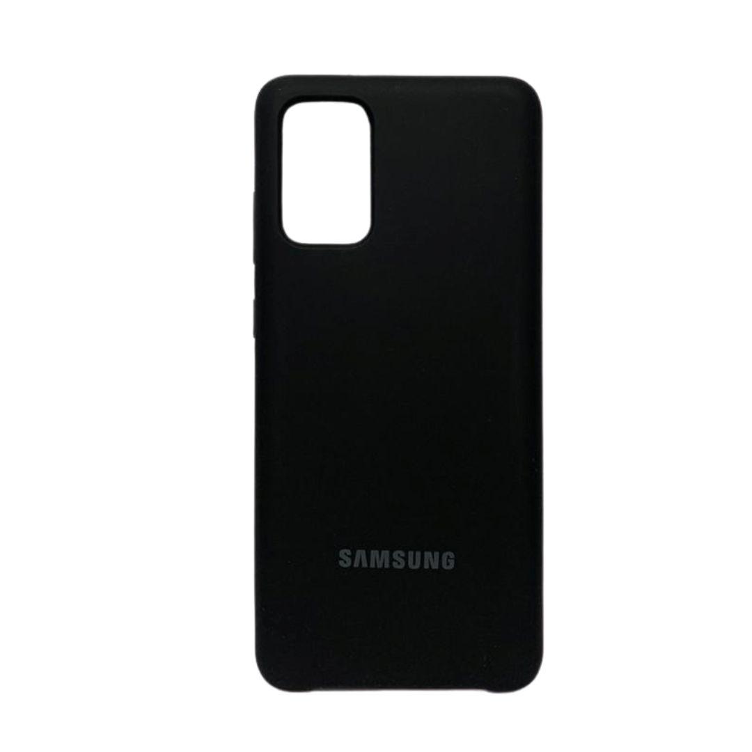 Capa Original Silicone Case Samsung S20 Plus Preta SC-S20PLUS-PR