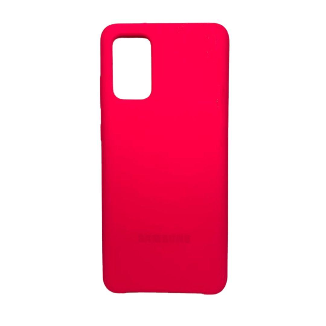 Capa Original Silicone Case Samsung S20 Plus Rosa Pink SC-S20PLUS-RP