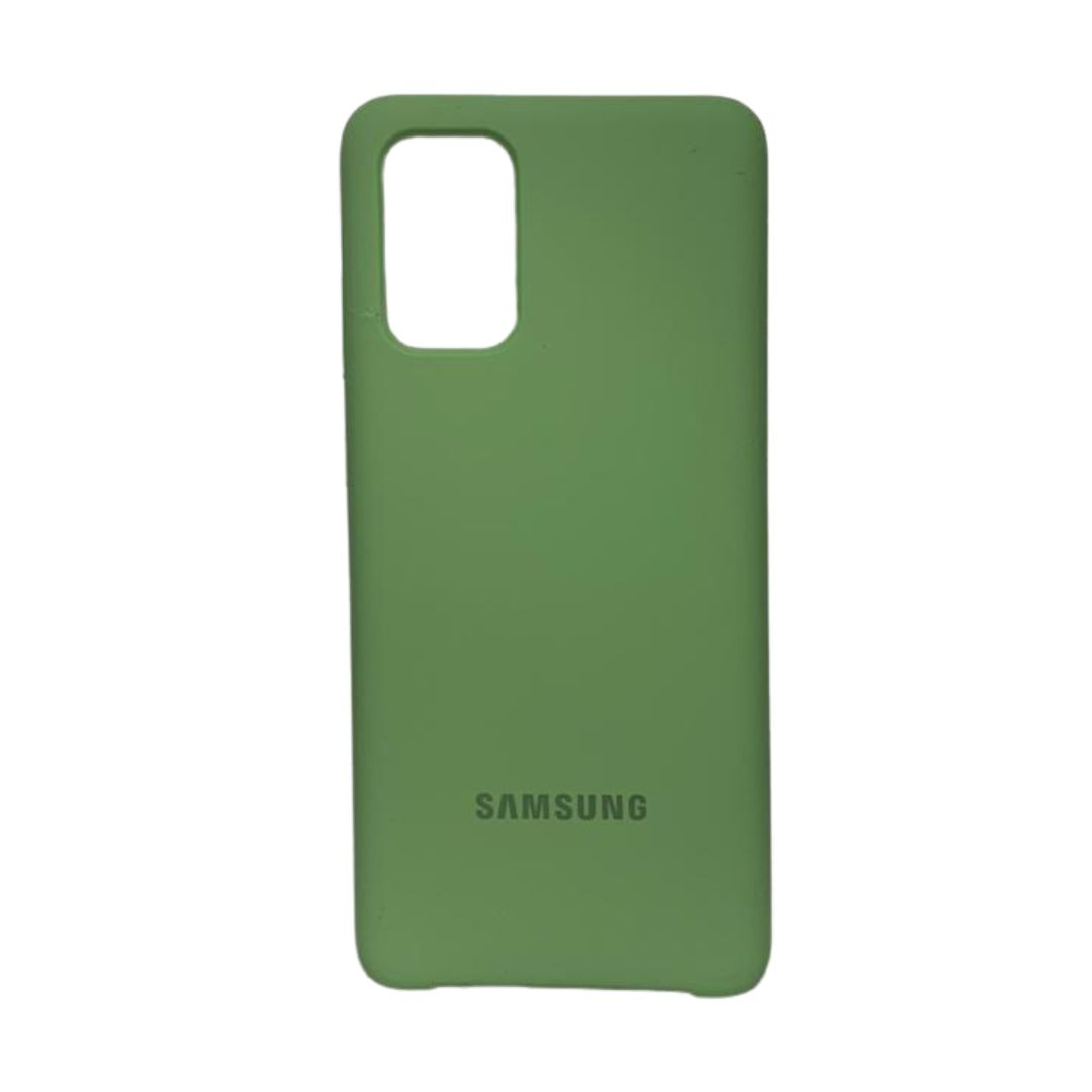 Capa Original Silicone Case Samsung S20 Plus Verde Abacate SC-S20PLUS-VA