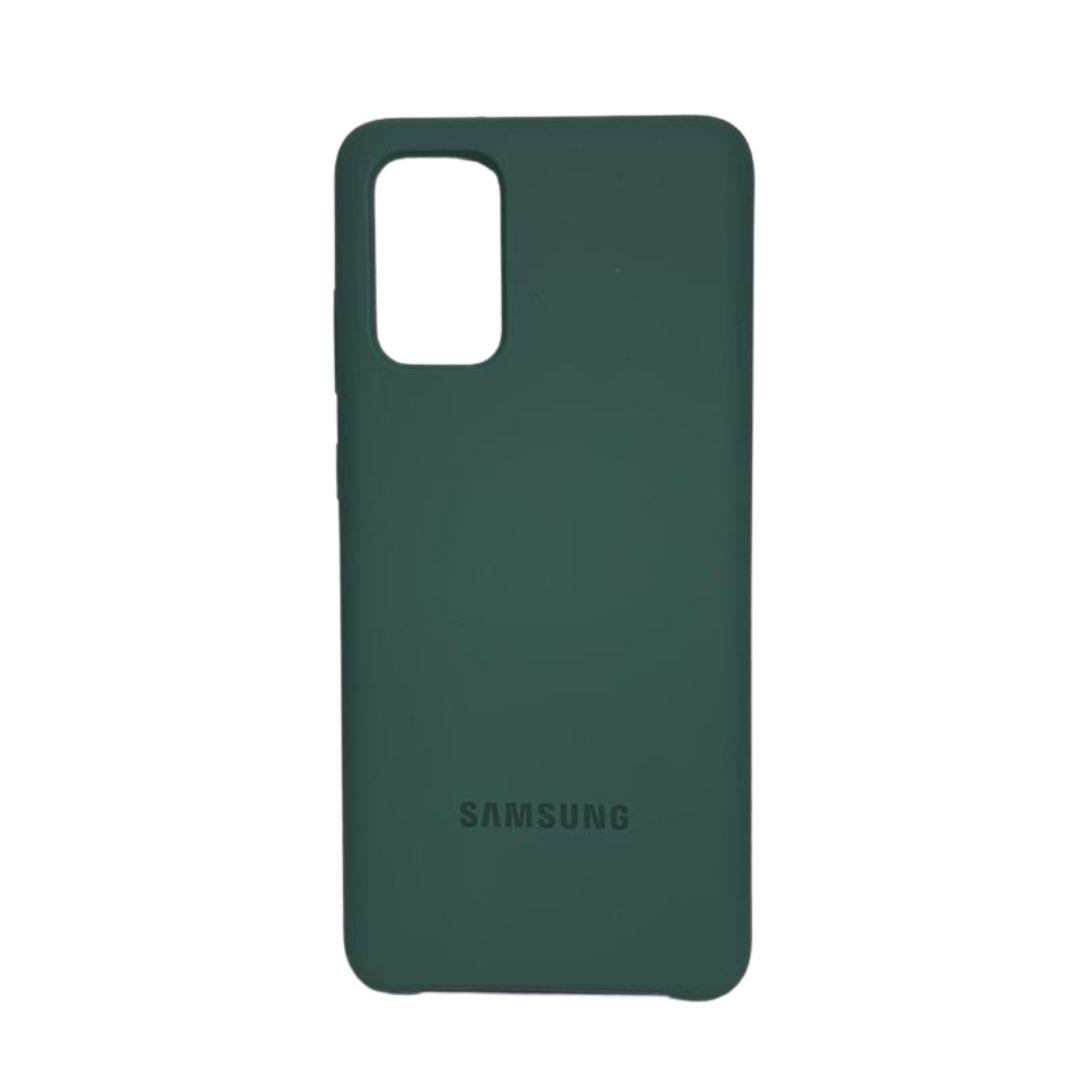 Capa Original Silicone Case Samsung S20 Plus Verde Escuro SC-S20PLUS-VE