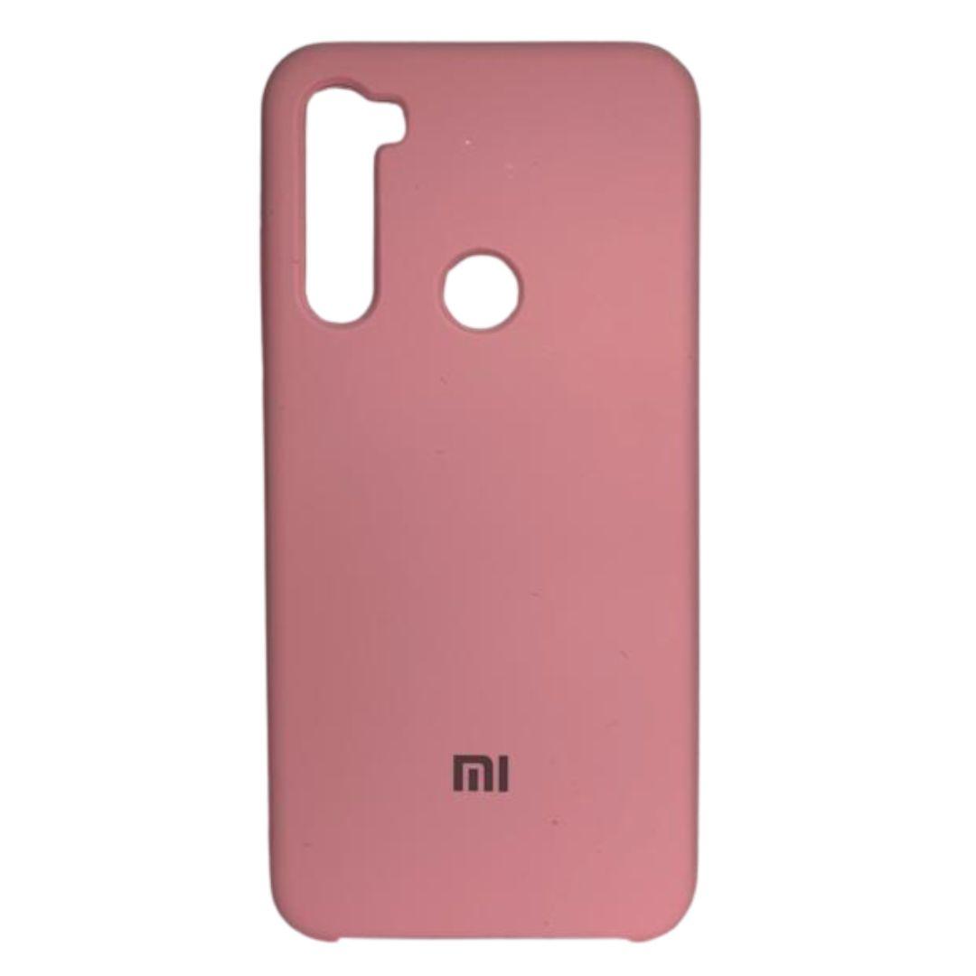 Capa Original Silicone Case Xiaomi MI 8T Rosa Bebê SC-MI8T-RB