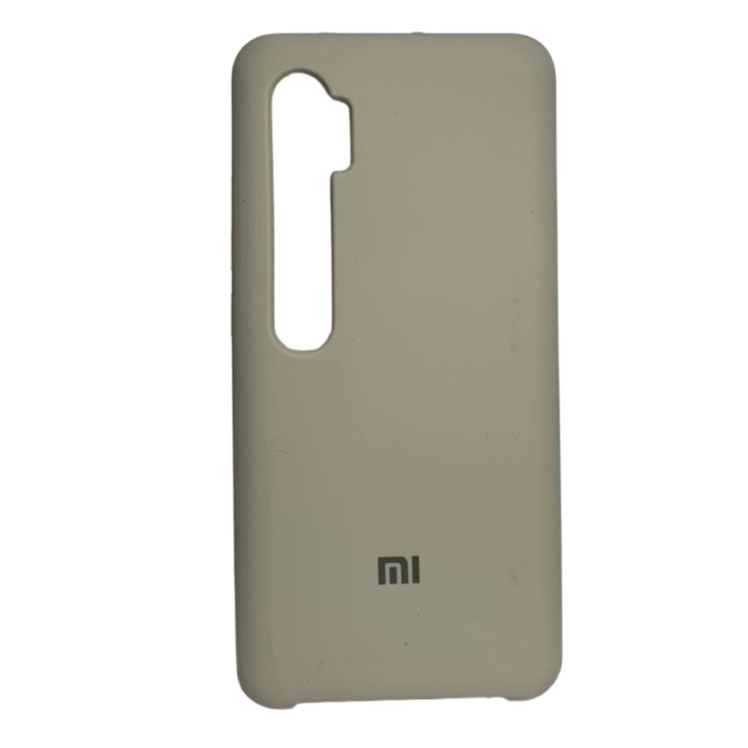 Capa Original Silicone Case Xiaomi Note 10 Pro Bege SC-NOTE10PRO-BE