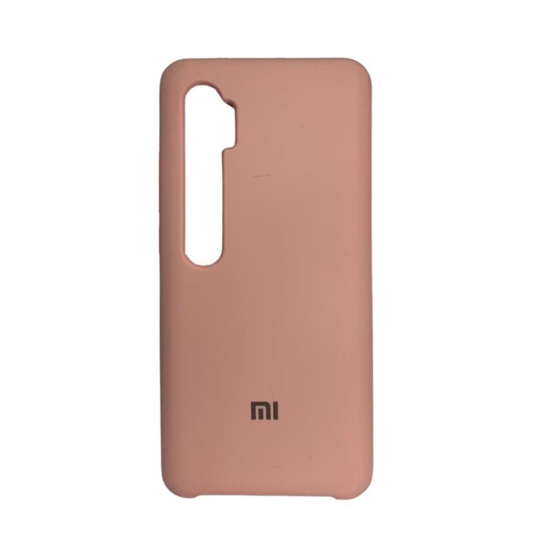 Capa Original Silicone Case Xiaomi Note 10 Pro Rosa Bebê SC-NOTE10PRO-RB
