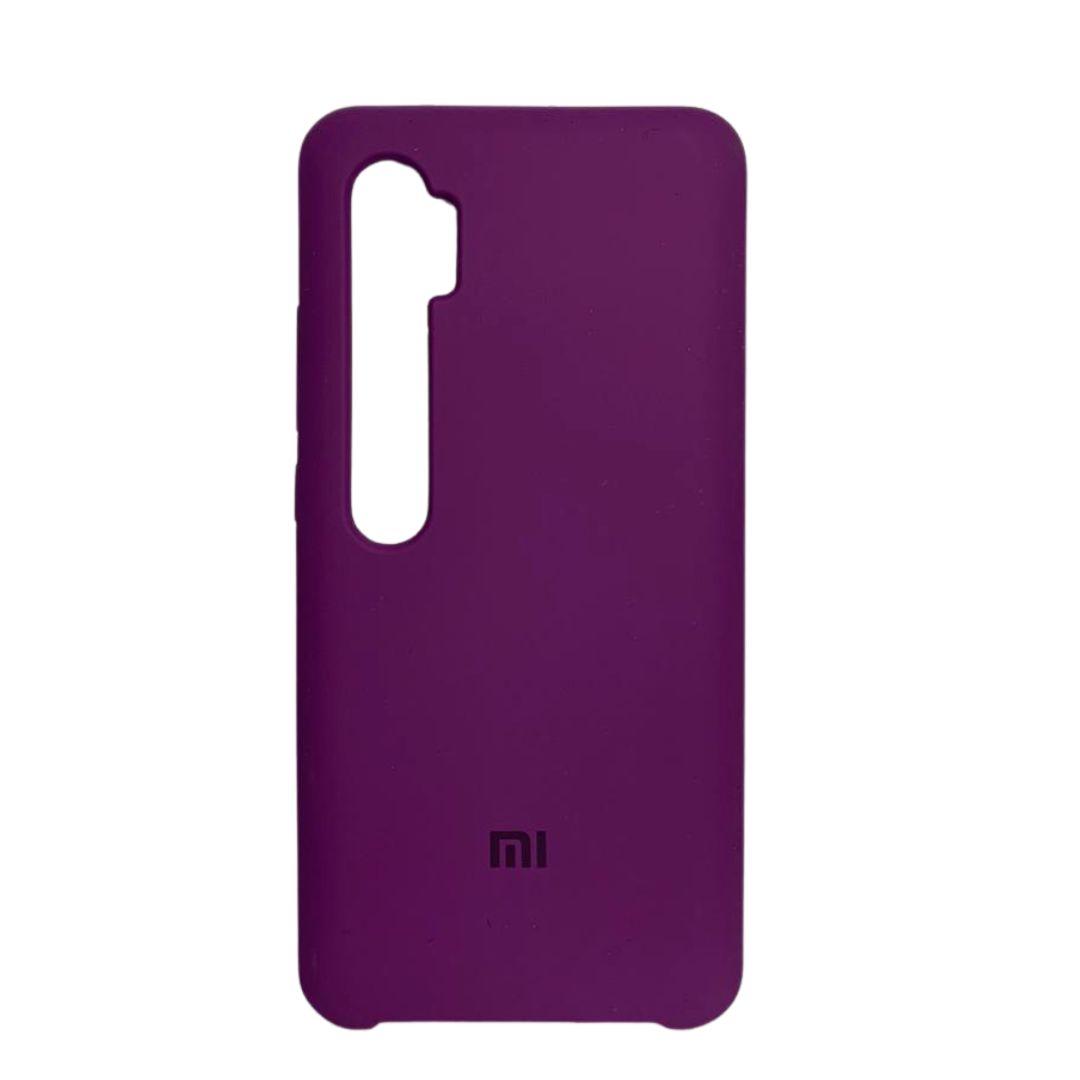 Capa Original Silicone Case Xiaomi Note 10 Pro Roxo SC-NOTE10PRO-RO