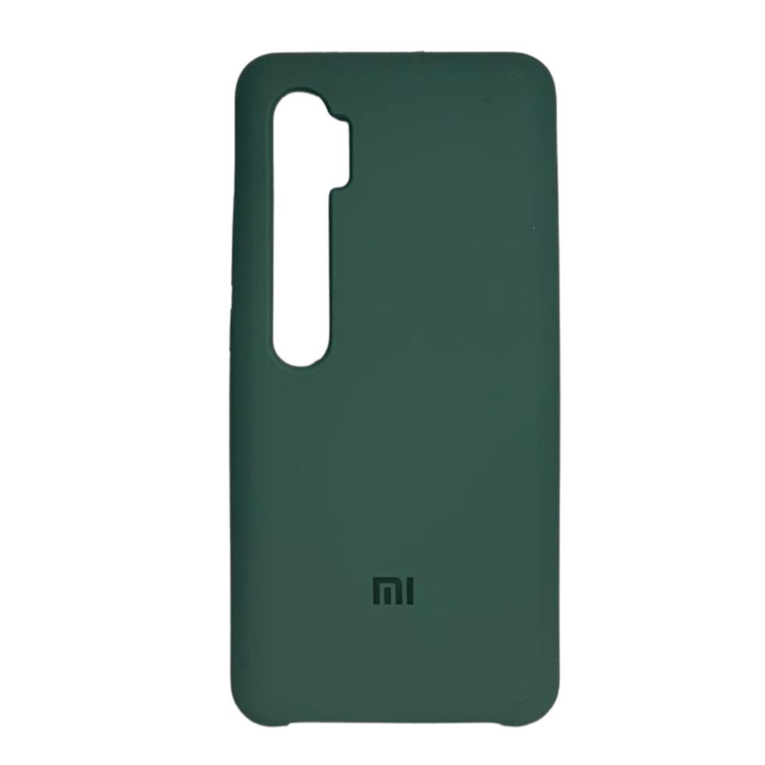 Capa Original Silicone Case Xiaomi Note 10 Pro Verde Escuro SC-NOTE10PRO-VE
