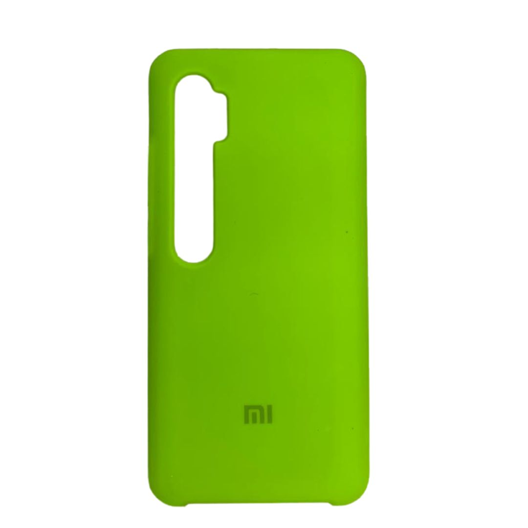 Capa Original Silicone Case Xiaomi Note 10 Pro Verde Neon SC-NOTE10PRO-VN