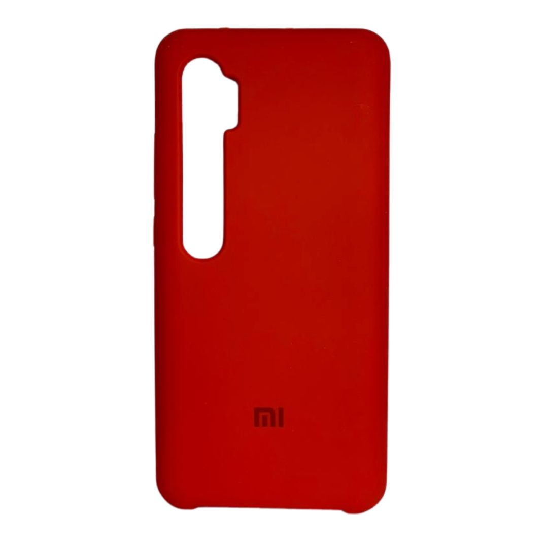 Capa Original Silicone Case Xiaomi Note 10 Pro Vermelha SC-NOTE10PRO-VER
