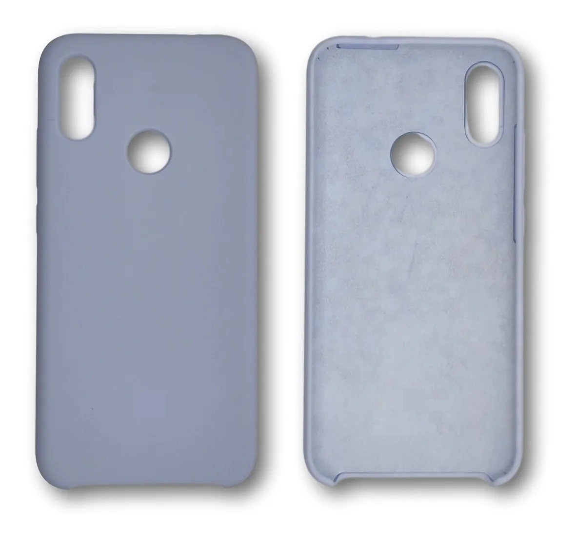 Capa Original Silicone Case Xiaomi NOTE 7 Azul Acinzentado SC-NOTE7-AA