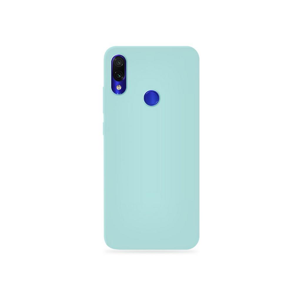 Capa Original Silicone Case Xiaomi NOTE 7 Azul Claro SC-NOTE7-AC