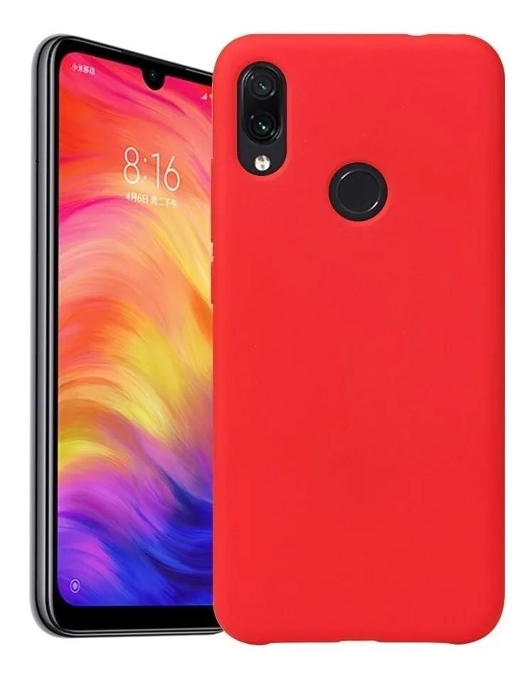 Capa Original Silicone Case Xiaomi NOTE 7 Vermelho SC-NOTE7-VE