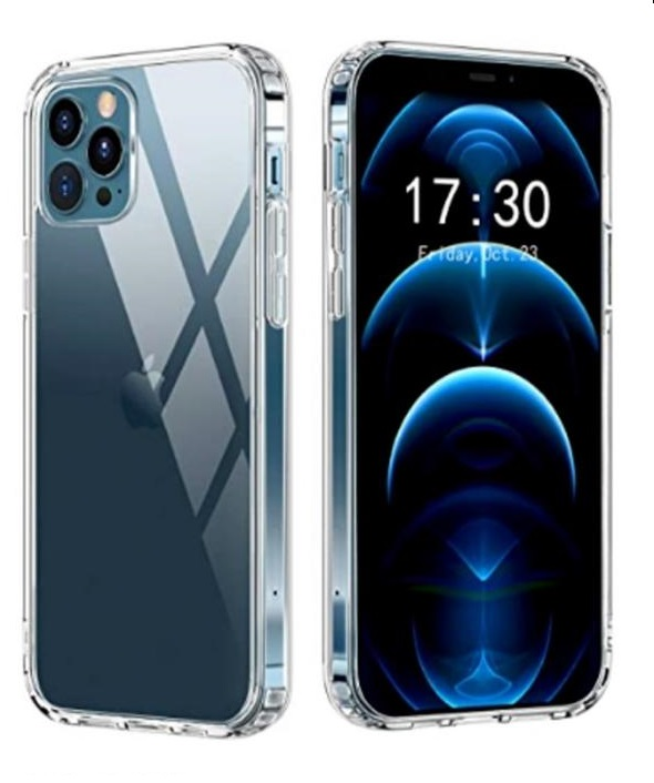 Capa Transparente Anti Impacto Iphone 12 5.4  CT-12-5.4