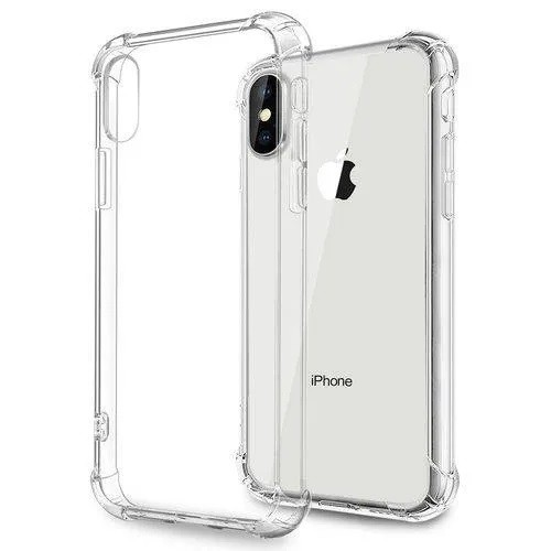Capa Transparente Anti Impacto Iphone X Hrebos CT-X