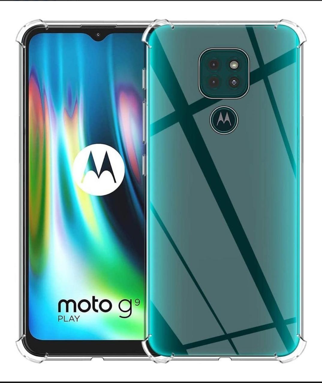 Capa Transparente Anti Impacto Motorola G9PLAY CT-G9PLAY