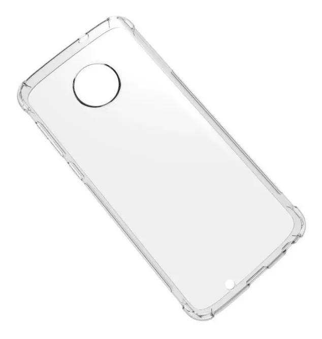 Capa Transparente Anti Impacto Motorola Moto E4 Hrebos CT-MOTOE4