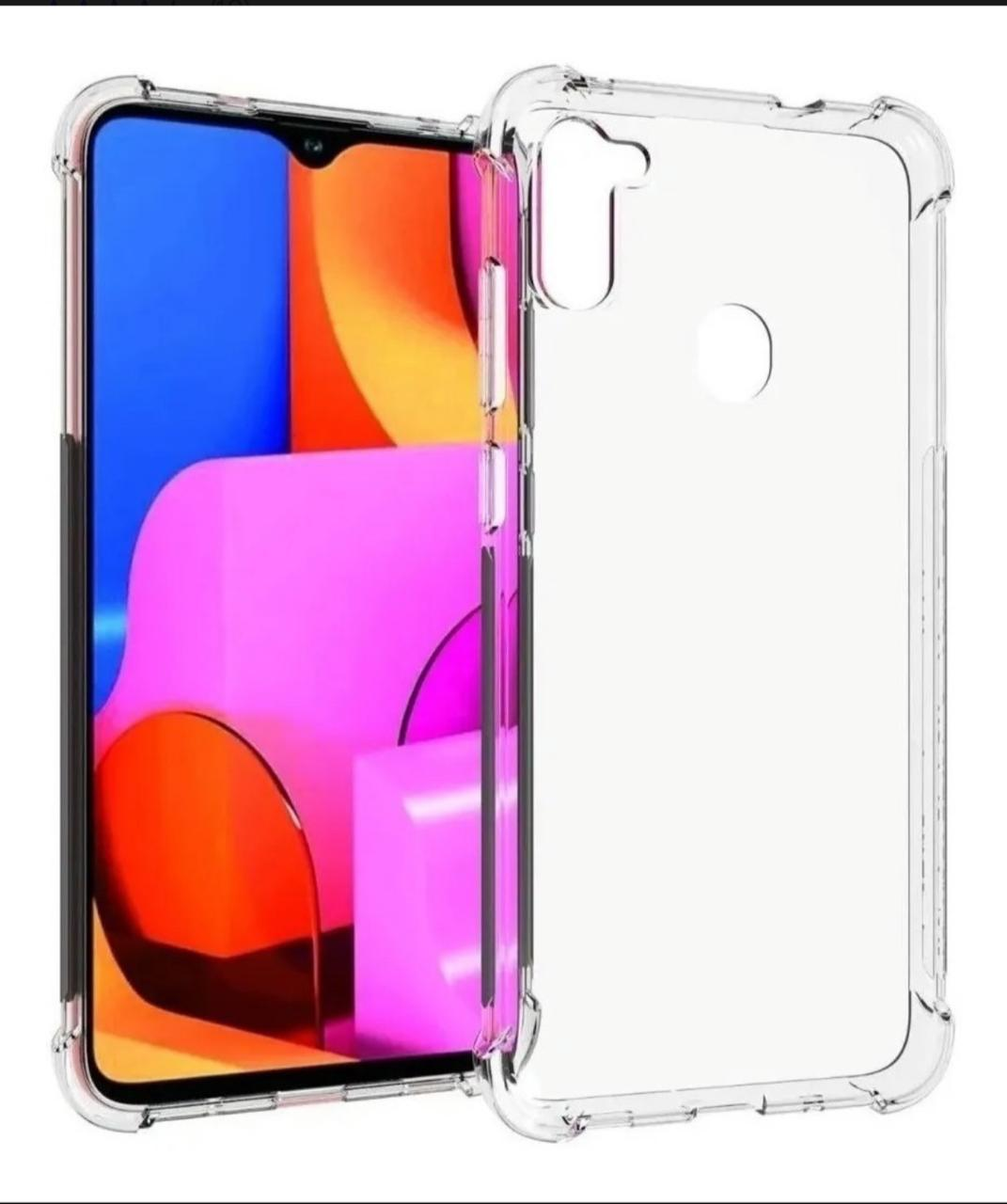 Capa Transparente Anti Impacto Samsung A11 CT-A11