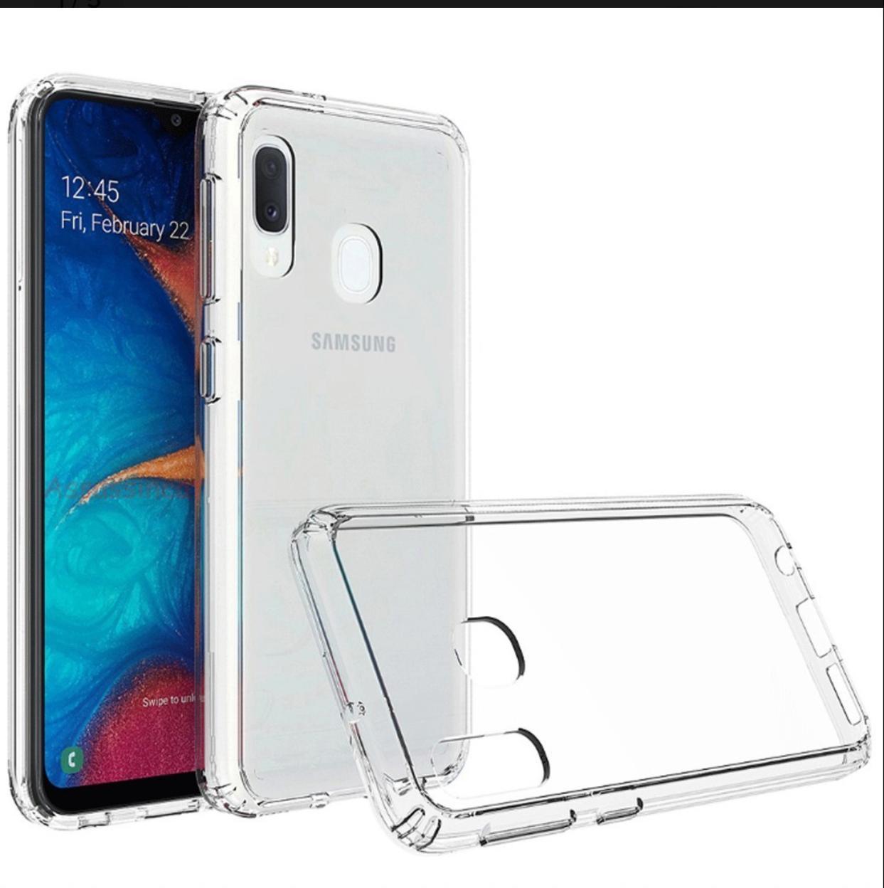 Capa Transparente Anti Impacto Samsung A20/A30 CT-A20/A30