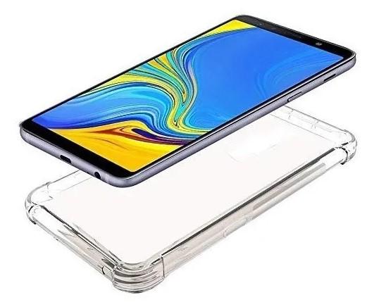 Capa Transparente Anti Impacto Samsung A7 2018