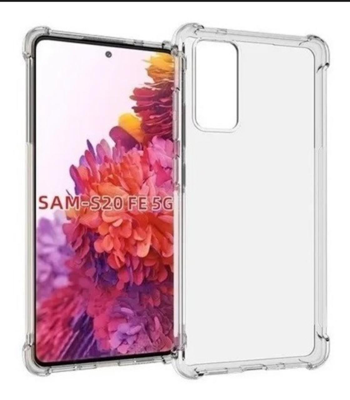 Capa Transparente Anti Impacto Samsung S20FE CT-S20FE