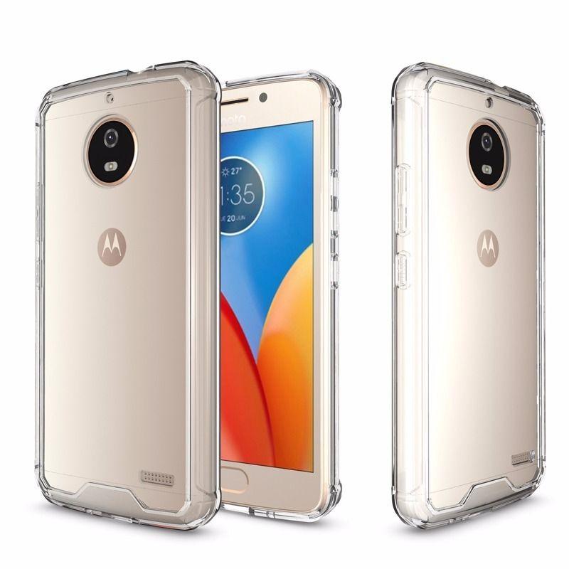 Capa Transparente Anti Impacto Motorola E4 PLUS CT-E4 PLUS