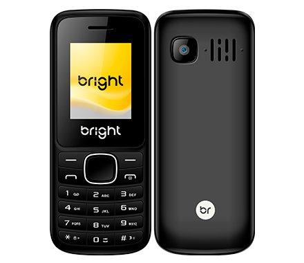Celular Barra Dual Chip com Câmera Mp3 e Bluetooth Preto Bright B-0405