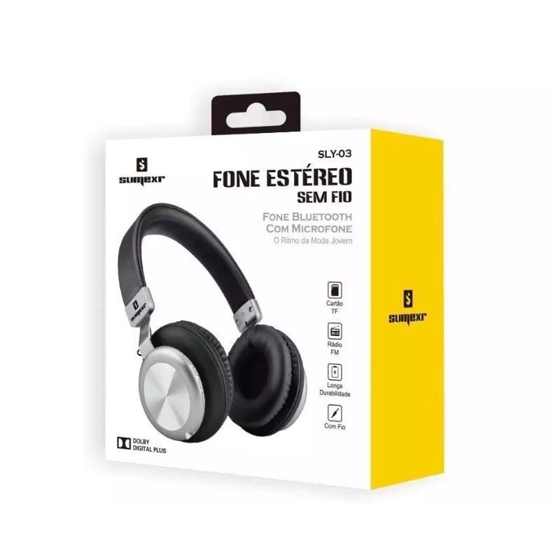 Headphone Bluetooth SLY-03