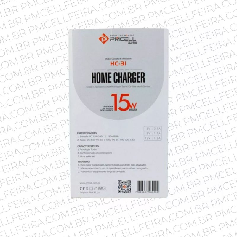 HOME CHARGER TURBO PMCELL HC-31