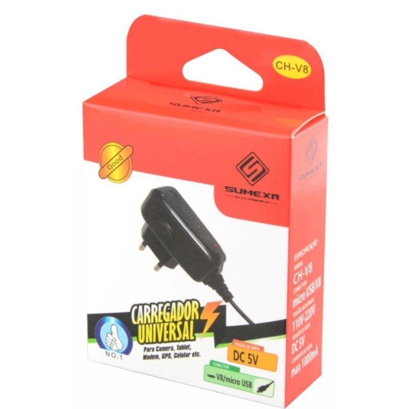 Kit Carregador Micro Usb Sumexr CH-V8