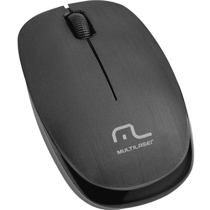 Mouse Multilaser Sem Fio 2.4 Ghz  Multilaser MO251