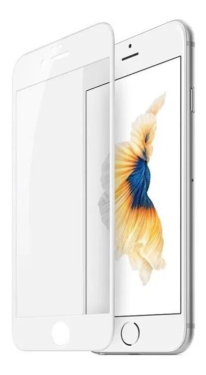 Película 3D de Vidro Iphone 6G PLUS com Borda Branca P3D-IP6GP-BR
