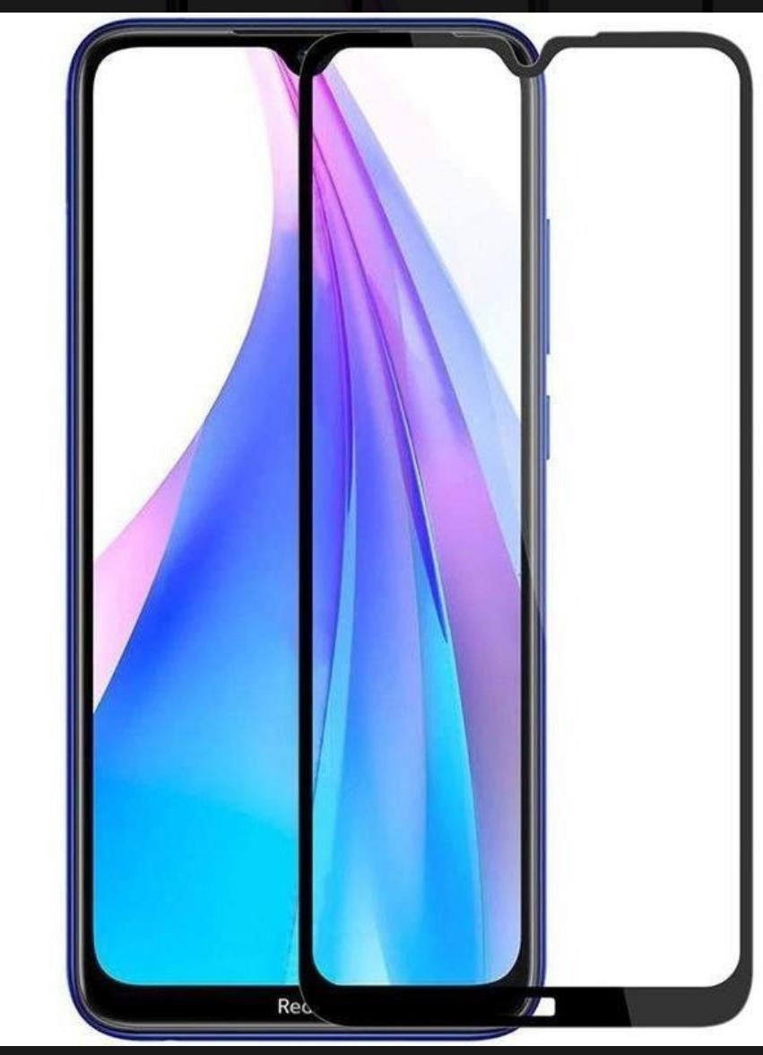 Película 3D de Vidro para Xiaomi NOTE 8 T com Borda Preta P3D-NOTE8T-PR